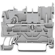 Řadová svorka Wago 2022-1201, pružinová, 5,2 mm, šedá