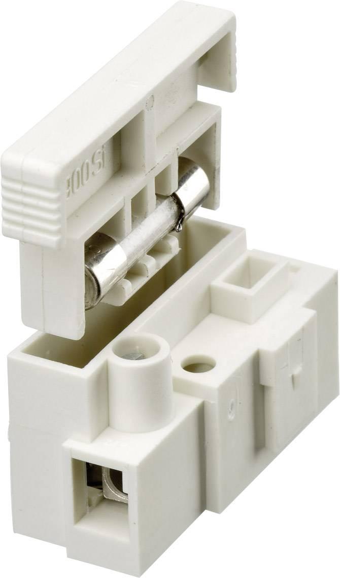 Svietidlové svorky Adels-Contact 900 SI/1 115251 na kábel s rozmerom 2.5-4 mm², tuhosť 2.5-4 mm², počet pinov 1, 1 ks, biela