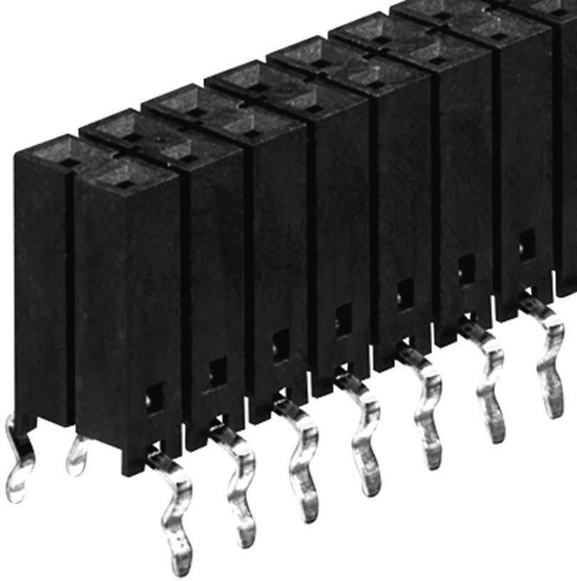 Zásuvková lišta Fischer Elektronik BL 12/762/ 90/Z, řádky 2, kontakty na řádek 45, 1 ks