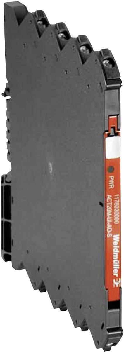 Signálový prevodník / oddeľovač s 1 výstupom Weidmüller ACT20M-AI-AO-E-S 1176010000, 1 ks