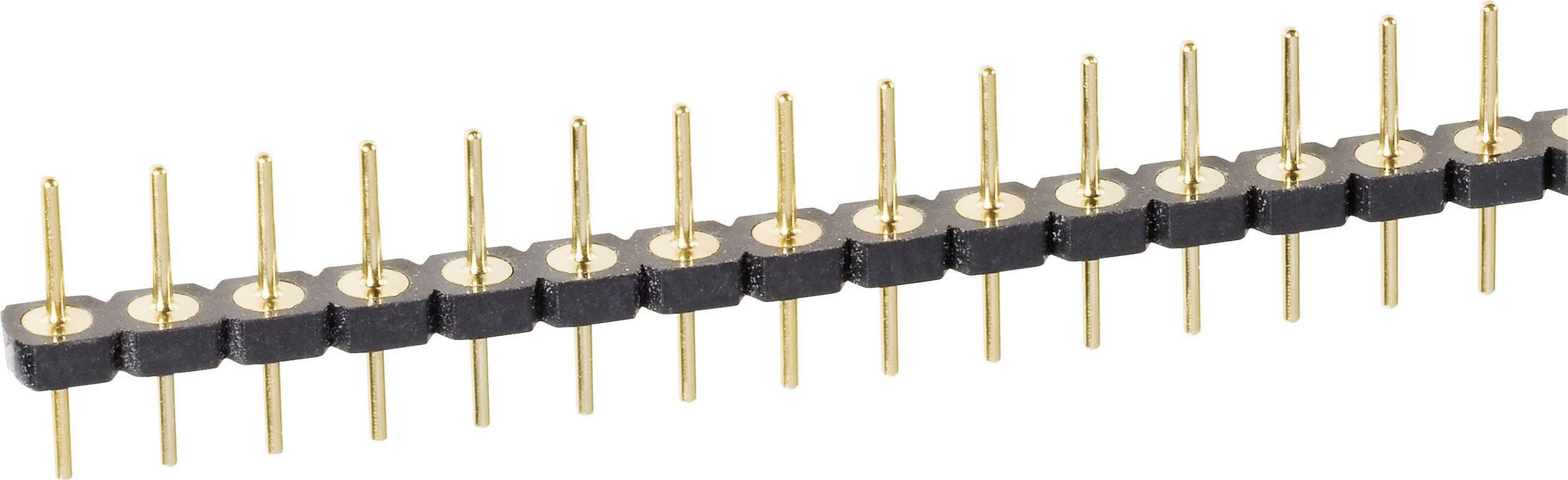 Pinová lišta (precízna) Fischer Elektronik MK LP 41/ 50/Z, řádky 1, kontakty na řádek 50, 1 ks