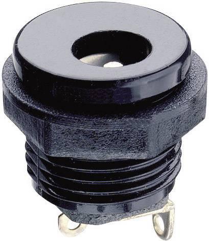 Nízkonapäťový konektor zásuvka, vstavateľná vertikálna Lumberg Druh spínacieho kontaktu: Otvárač NEB/J 25 C, 6.3 mm, 2.35 mm, 1 ks