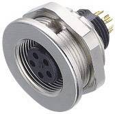 Binder 09-0408-00-03 IP67, CuZn, pólů + PE, 1 ks