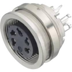 Kulatý konektor Binder 09-0308-00-03, zásuvka vestavná, 3pól., 7 A, IP40