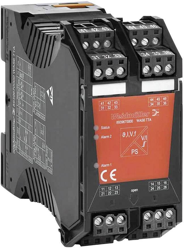 Prevodník signálu a spínač pri hraničných hodnotách Wave TTA Weidmüller WAZ6 TTA 8939680000 1 ks