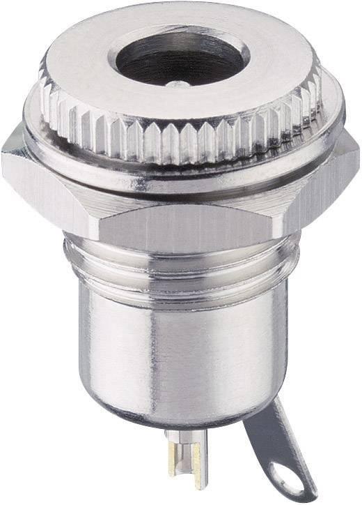 Napájecí konektor Lumberg 1614 16, Bez, zásuvka vestavná vertikální, 11,2/5,6 mm