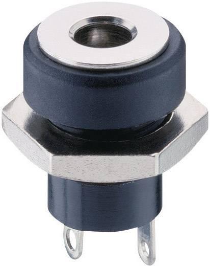 Nízkonapäťový konektor zásuvka, vstavateľná vertikálna Lumberg Druh spínacieho kontaktu: Bez 1614 17, 3.6 mm, 1.3 mm, 1 ks