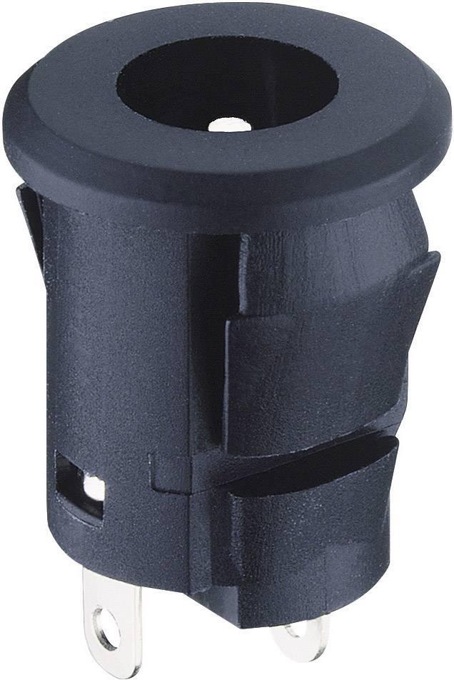Nízkonapäťový konektor zásuvka, vstavateľná vertikálna Lumberg Druh spínacieho kontaktu: Bez 1610 01, 5.8 mm, 2.35 mm, 1 ks
