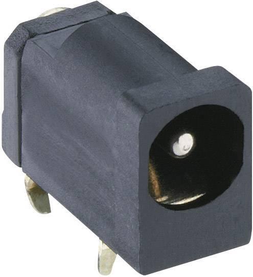 Nízkonapäťový konektor zásuvka, vstavateľná horizontálna Lumberg Druh spínacieho kontaktu: Otvárač 1613 20, 4.5 mm, 1.3 mm, 1 ks