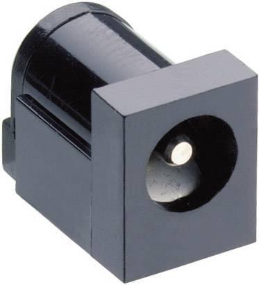 Nízkonapäťový konektor zásuvka, vstavateľná horizontálna Lumberg Druh spínacieho kontaktu: Otvárač NEB 21 R, 6 mm, 1.95 mm, 1 ks