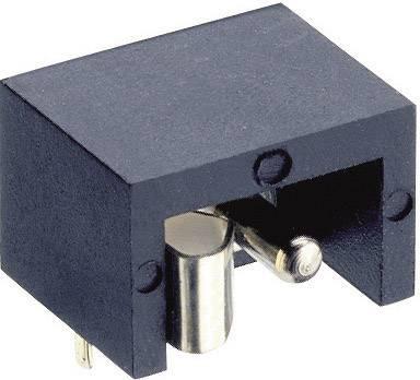 Nízkonapäťový konektor zásuvka, vstavateľná horizontálna Lumberg Druh spínacieho kontaktu: Otvárač NEB/J 21 R, 6 mm, 1.9 mm, 1 ks