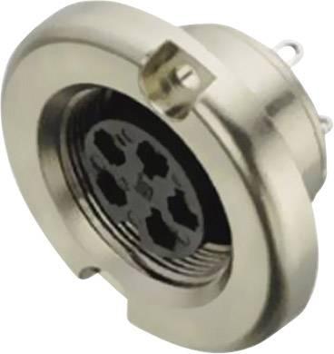 Okrúhly konektor so skrutkovacím blokovaním Prístrojová prípojka Binder 09-0036-00-03 IP40, pólů + PE, 1 ks