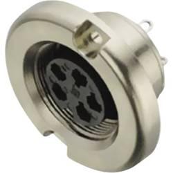 Okrúhly konektor so skrutkovacím blokovaním guľatý faston Prístrojová prípojka Binder 09-0036-00-03 IP40, pólů 3, 1 ks