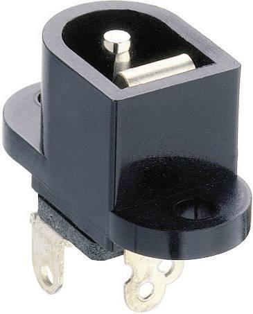 Nízkonapäťový konektor zásuvka, vstavateľná vertikálna Lumberg Druh spínacieho kontaktu: Otvárač NEB/J 25, 6.5 mm, 2.35 mm, 1 ks