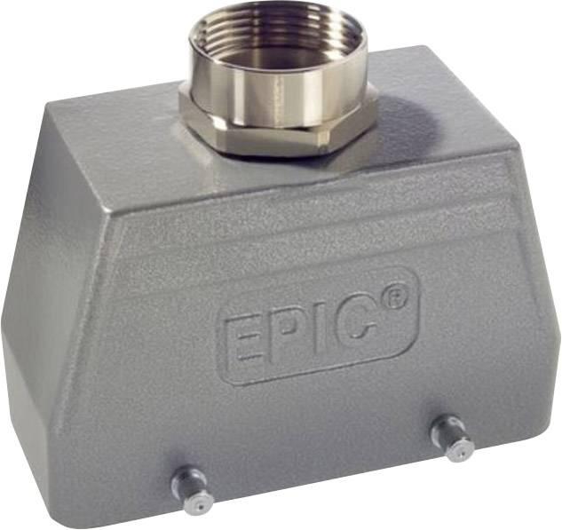 LappKabel EPIC® H-B 10 TG M20 (19040000), Část krytu patice - rovná vývodka, M 20, IP65, šedá
