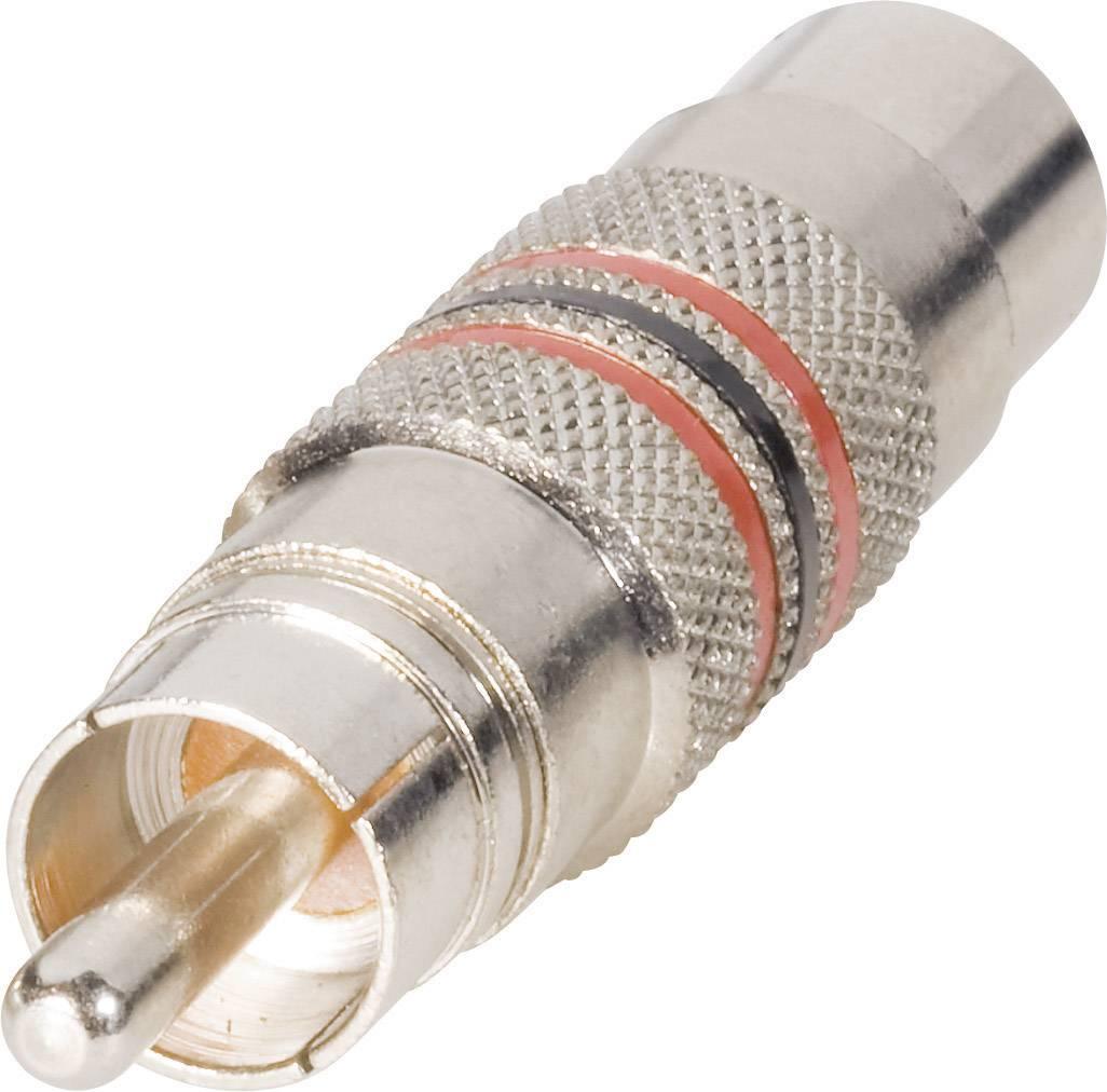 Cinch adaptér cinch zástrčka - mini DIN zásuvka BKL Electronic 0204504, 0204504, 1 ks