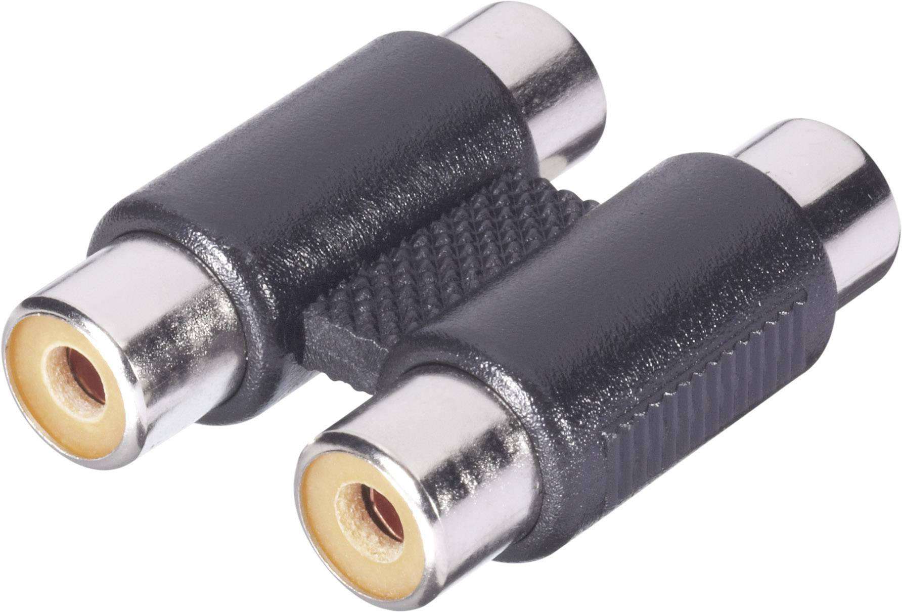 Cinch audio adaptér BKL Electronic 1102028, čierna