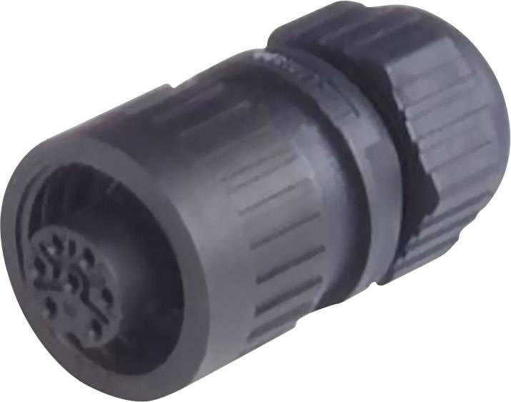 Konektor Hirsch CA 6 LD (934 127-100), spojka rovná, 6-pól., max. 2,5 mm², IP67