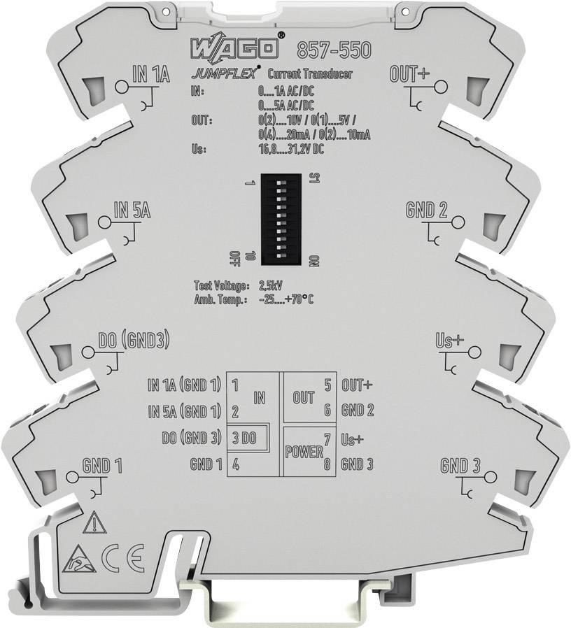 WAGO Převodník proudu AC/DC 0 - 1 A, 0 - 5 A