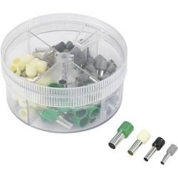 Sada dutinek 4 mm² 16 mm² šedá, černá, slonová kost, zelená TRU COMPONENTS 739705 100 ks