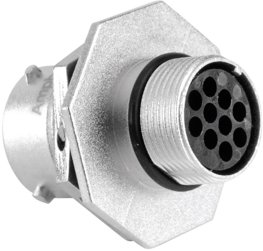 Přístrojový konektor série RT360™ Amphenol RT0712-10PNH 5 A, poniklovaný, 1 ks