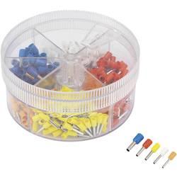 Sada dutinek 0.50 mm² 2.50 mm² oranžová, bílá, žlutá, červená, modrá TRU COMPONENTS 739735 400 ks