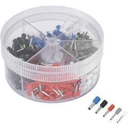 Sada dutinek TRU COMPONENTS 737074 0.50 mm² - 2.50 mm², bílá, šedá, červená, černá, modrá, 400 ks