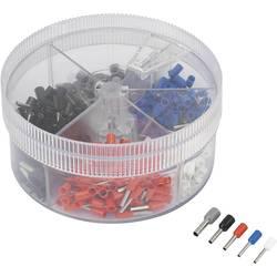 Súprava dutiniek TRU COMPONENTS 739872 0.50 mm² - 2.50 mm², biela, modrá, červená, čierna, sivá 400 ks