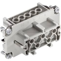 Konektorová vložka, zásuvka EPIC® H-BE 10 10193000 LAPP počet kontaktů 10 + PE 1 ks