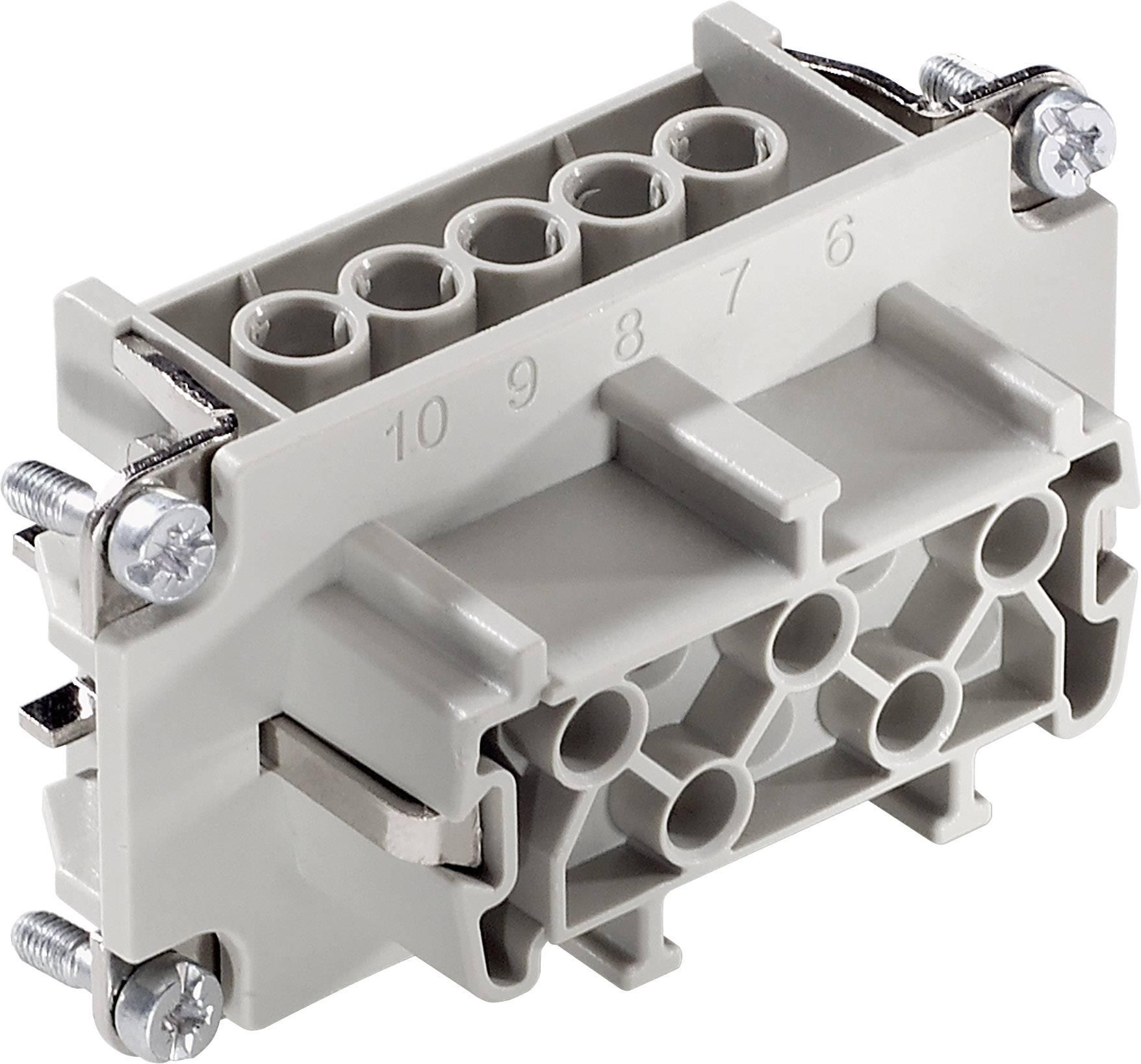 Konektorová vložka, zásuvka EPIC® H-BE 10 10193000 LappKabel počet kontaktů 10 + PE 1 ks
