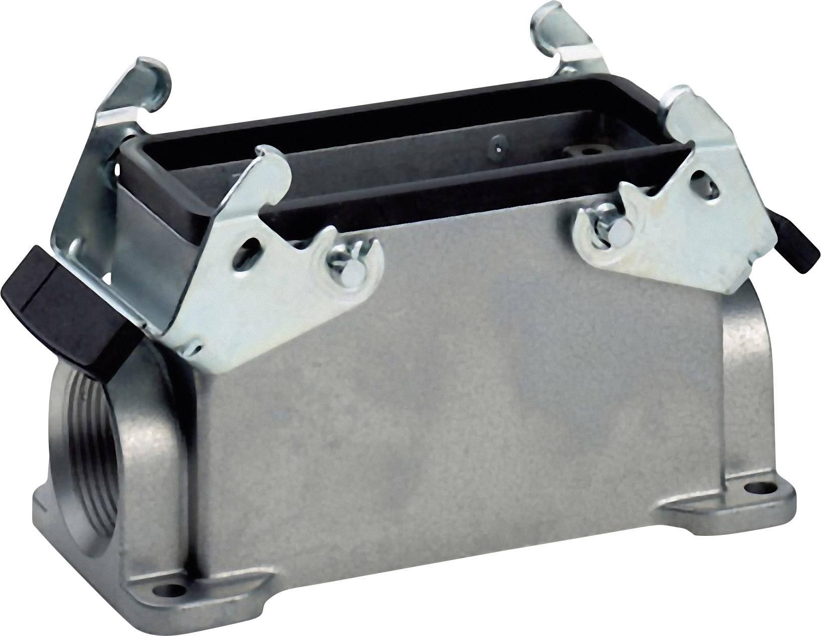 Soklové pouzdro, 1 kabelový vstup, 2 příčné třmeny, nízké provedení, série H-B 16 LappKabel 19075000 1 ks