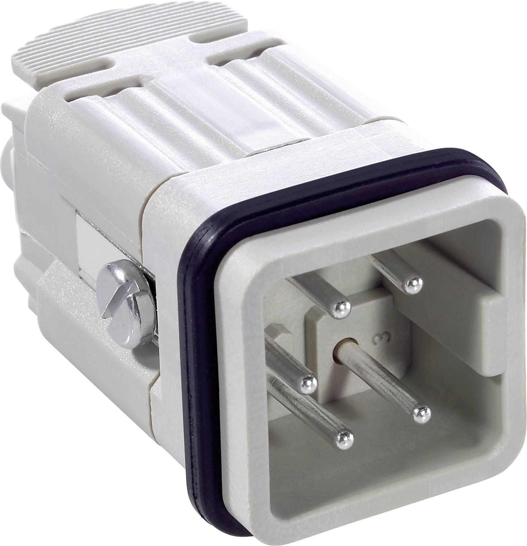 LappKabel EPIC® H-A 4 SS (10431000), Zásuvkový nástavec, IP65, šedá