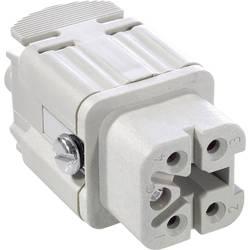 Konektorová vložka, zásuvka EPIC® H-A 4 10432000 LAPP počet kontaktů 4 + PE 1 ks