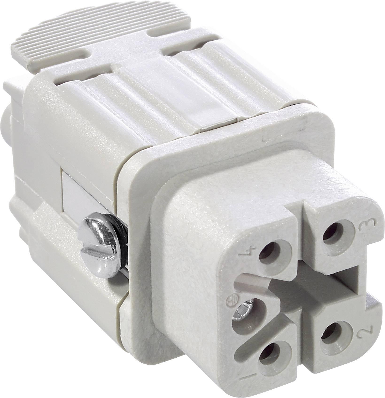 Konektorová vložka, zásuvka EPIC® H-A 4 10432000 LappKabel počet kontaktů 4 + PE 1 ks