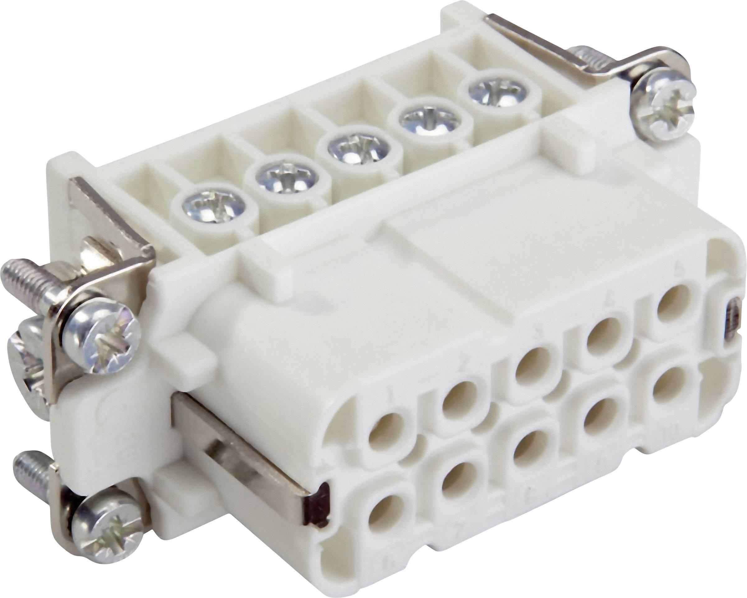 Konektorová vložka, zásuvka EPIC® H-A 10 10441000 LappKabel počet kontaktů 10 + PE 5 ks