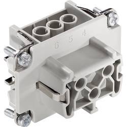 Konektorová vložka, zásuvka EPIC® H-B 6 10191000 LAPP počet kontaktů 6 + PE 1 ks