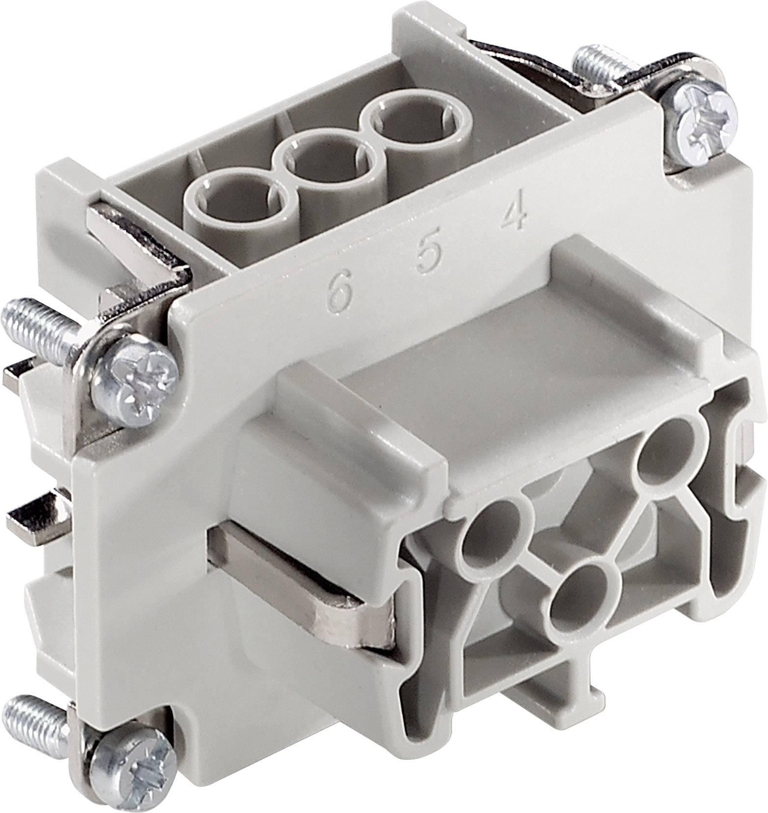 Konektorová vložka, zásuvka EPIC® H-B 6 10191000 LappKabel počet kontaktů 6 + PE 1 ks