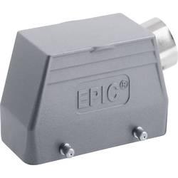 Průchodkové pouzdro, boční kabelový vstup, čepy pro příčné třmeny, nízké provedení, s připojovacím hrdlem, série H-B 16 M25 LAPPEPIC® H-B 16 TS M25 19082000 1 ks