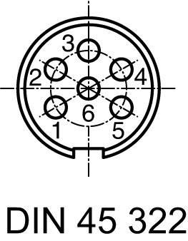 Amphenol T 3477 000 IP40, pólů + PE, 1 ks