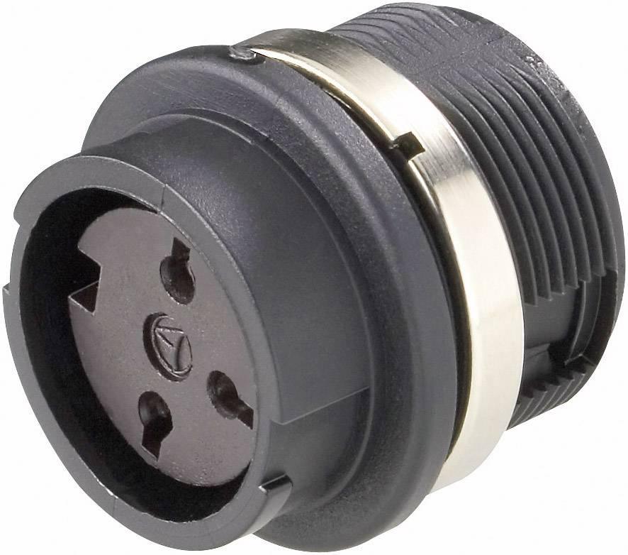 Přístrojová zásuvka Amphenol T 3427 000, 6pól., 3 - 6 mm, IP40