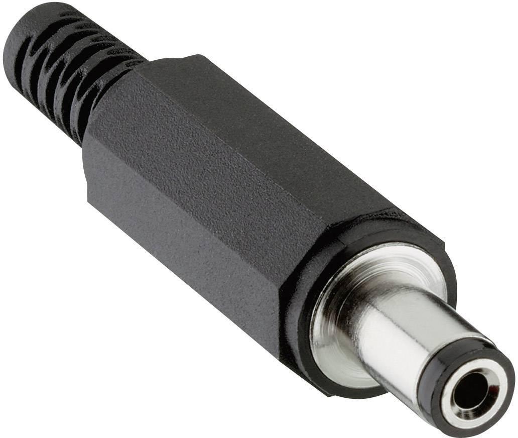 Napájecí konektor Lumberg 1633 02 (163302), 1633 02, zástrčka rovná, 5,5/5,5/2,1 mm