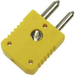 Standardní termočlánek konektor 1 mm² žlutá B & B Thermo-Technik Množství: 1 ks