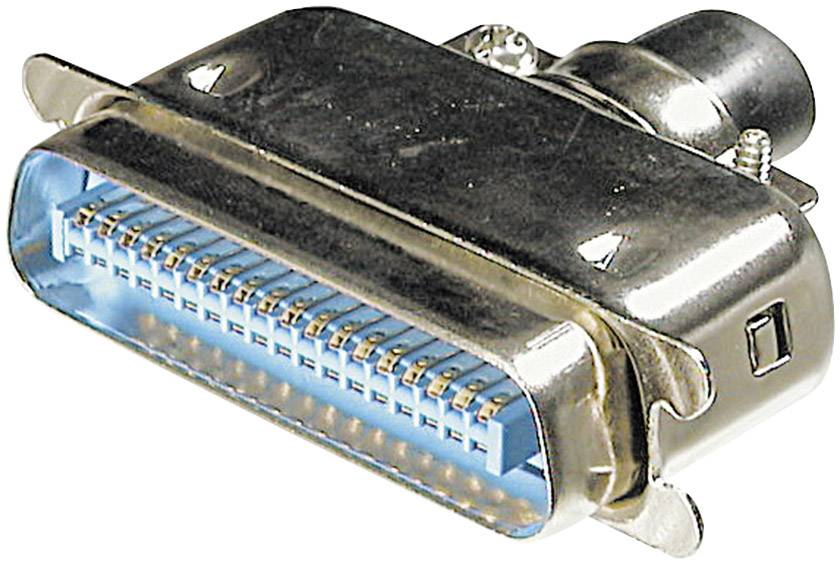 Konektor Centronics Zástrčka počet pólů=50 ASSMANN WSW A-57/50 M, 1 ks