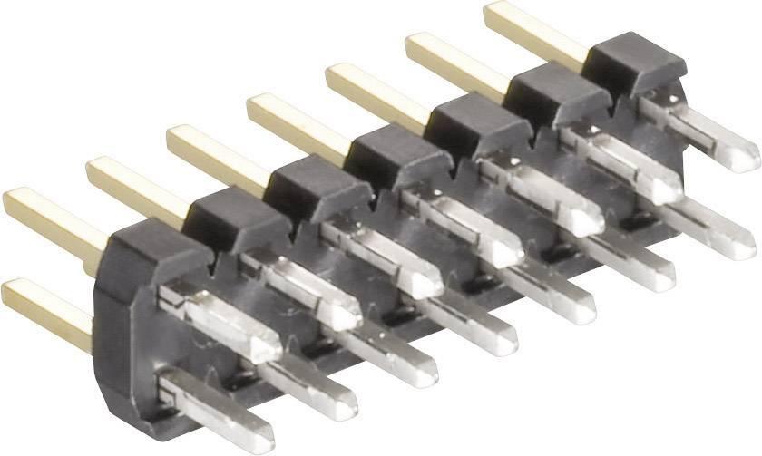 Pinová lišta (štandardná) MPE Garry 150-3-010-0-S-XS0-0835, řádky 2, kontakty na řádek 5, 1 ks