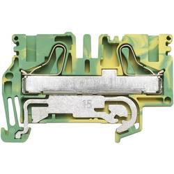 Svorka řadová s ochr. vodičem Weidmüller PPE 6/10 (1896180000), 8,1 mm, zelenožlutá
