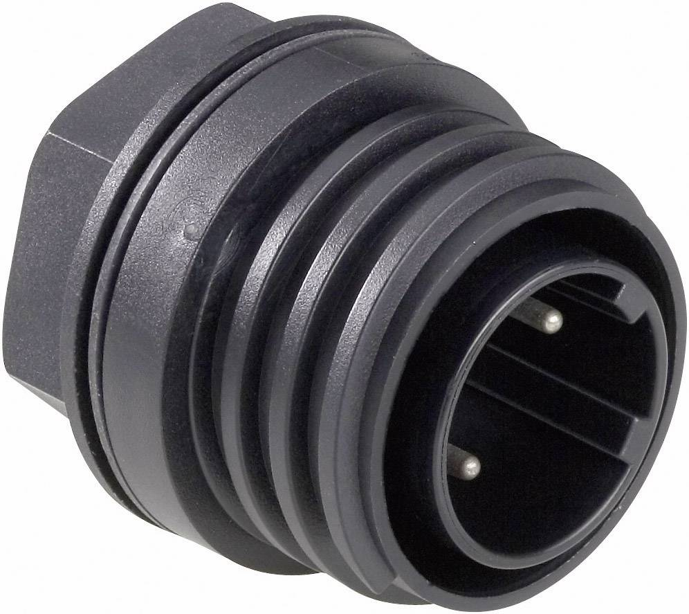 Bulgin PX0931/02/P IP68, polyamid 6.6, pólů + PE, 1 ks