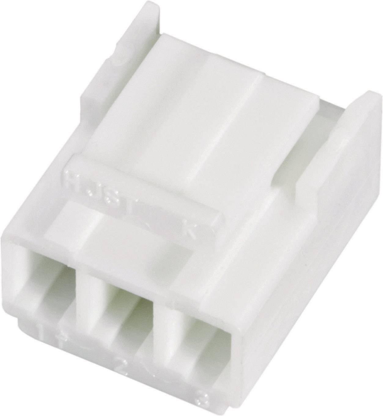 Zásuvková lišta (štandardná) JST VHR-3N VHR-3N, 14.6 mm, pólů 3, rozteč 3.96 mm, 1 ks