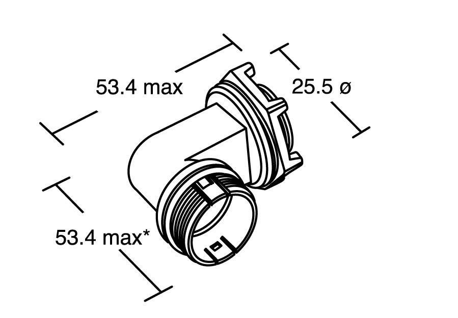 Bulgin PX0803 IP68, 1 ks