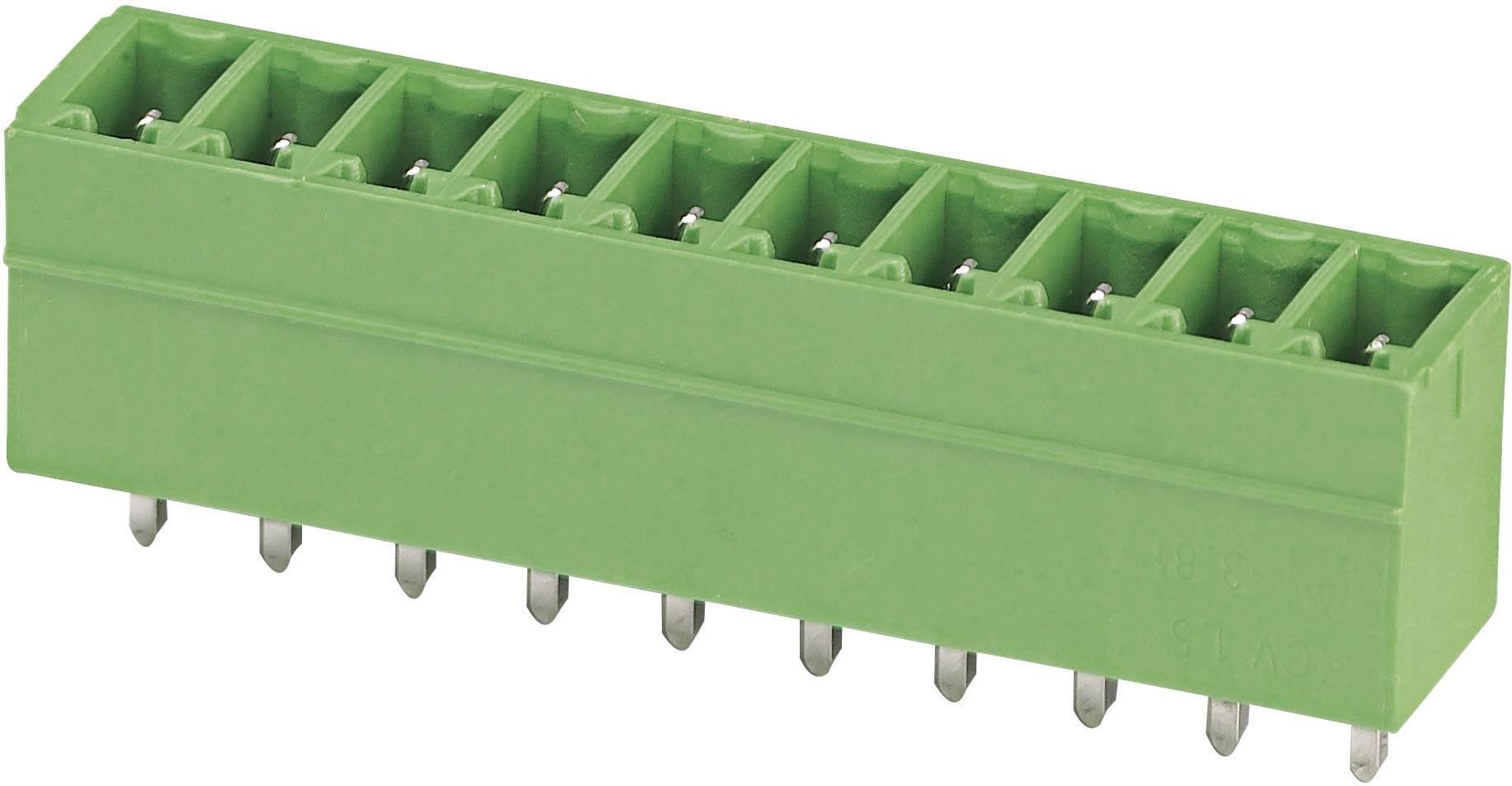 Svorkovnice 1řadá do DPS Phoenix Contact MCV 1,5/ 3-G-3,81 (1803439), 3pól., zelená