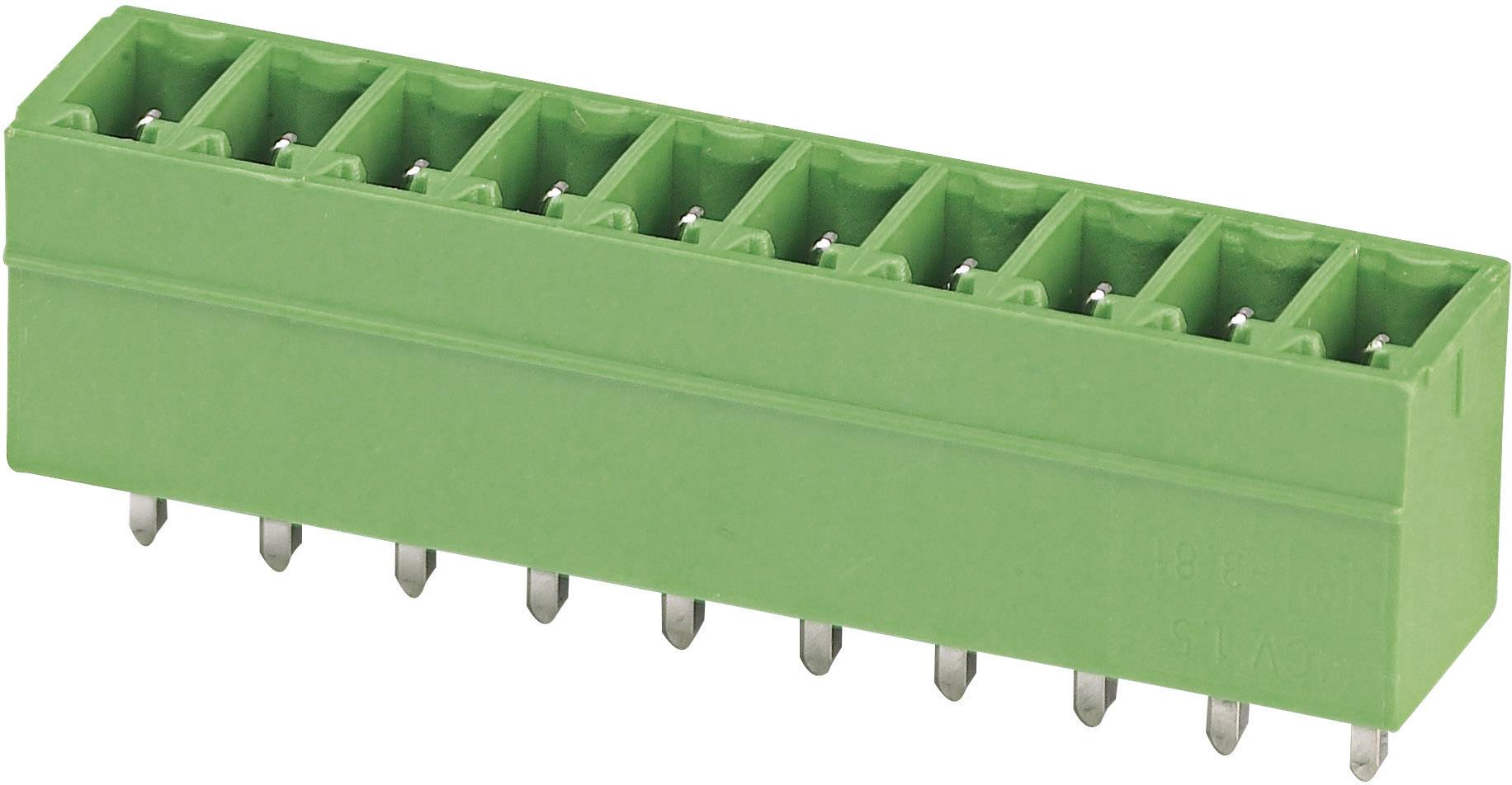 Svorkovnice 1řadá do DPS Phoenix Contact MCV 1,5/ 4-G-3,5 (1843622), 4pól., zelená